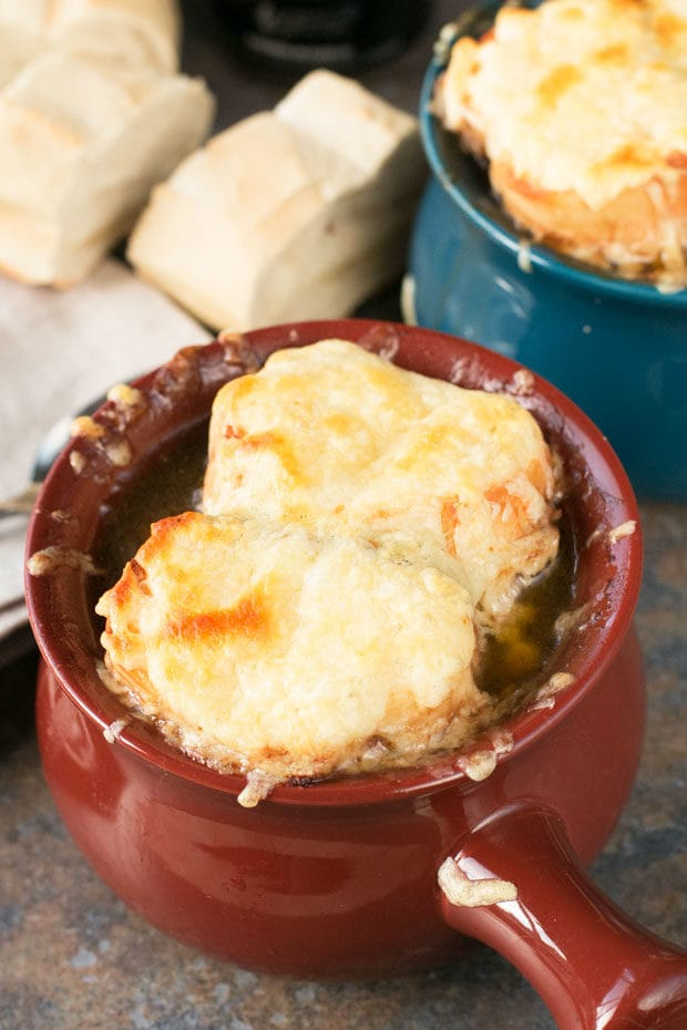 Irish Stout French Onion Soup | cakenknife.com