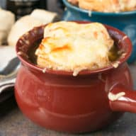 Irish Stout French Onion Soup | cakenknife.com