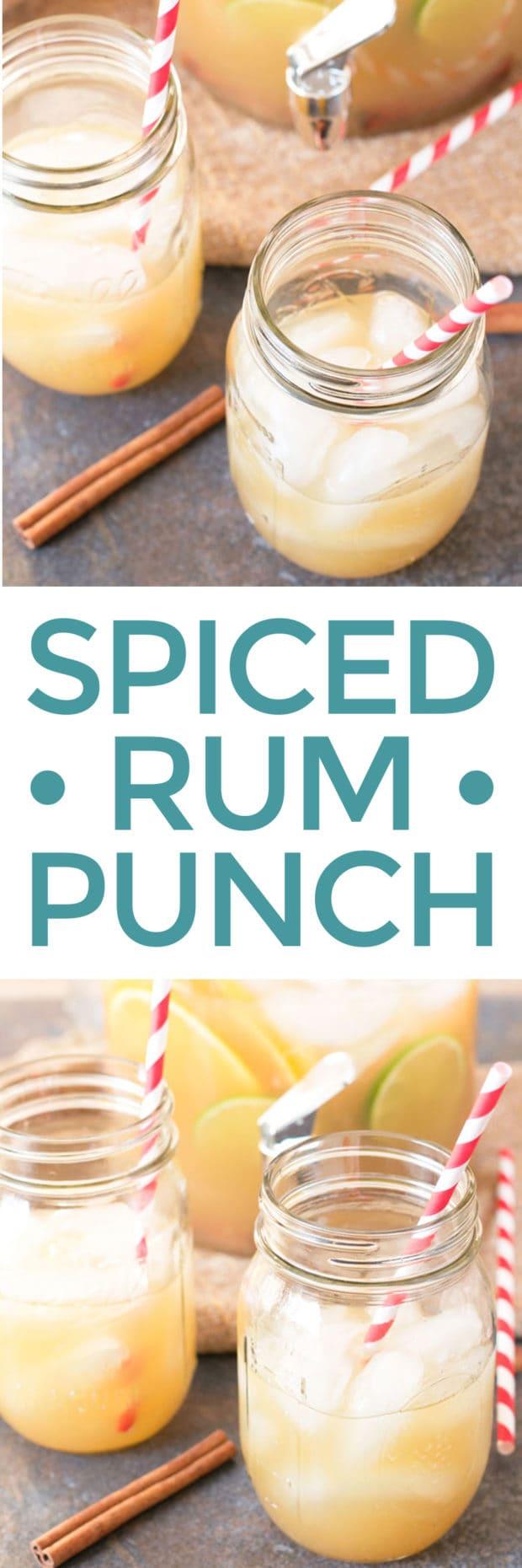 Spiced Rum Punch | cakenknife.com