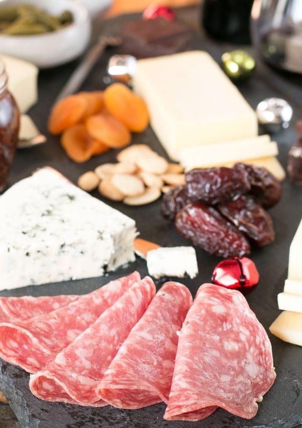 Very Merry Christmas Cheese Board   cakenknife.com
