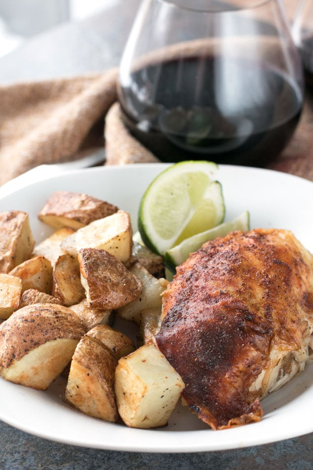 Berbere Roasted Chicken | cakenknife.com