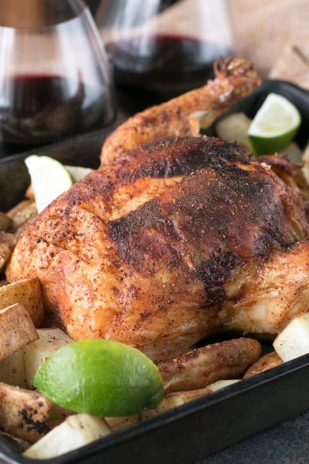 Berbere Roasted Chicken | cakenknife.com