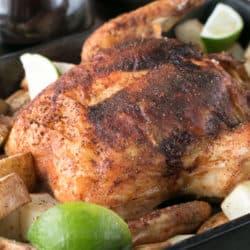 Berbere Roasted Chicken   cakenknife.com