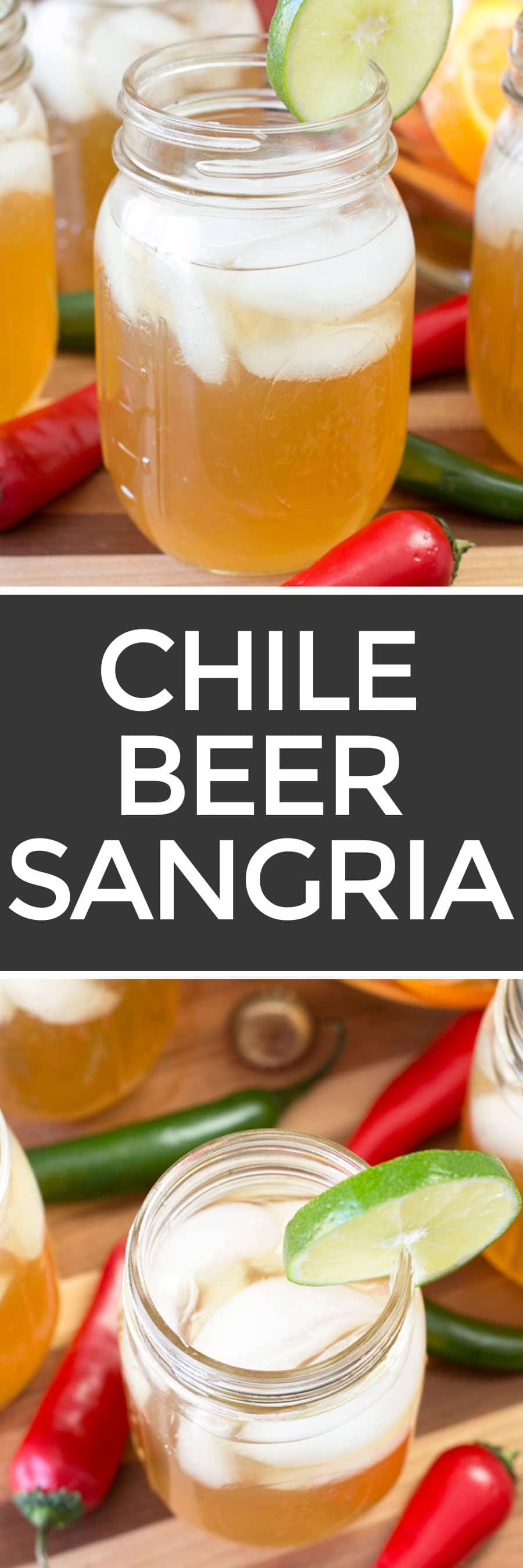 Chile Beer Sangria | cakenknife.com