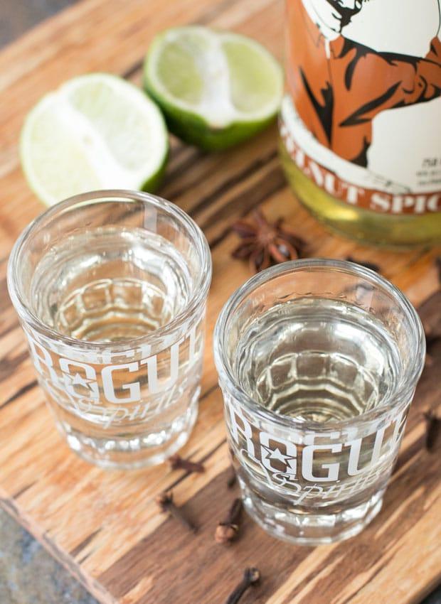 Hot Hazelnut Rum Cocktail   cakenknife.com