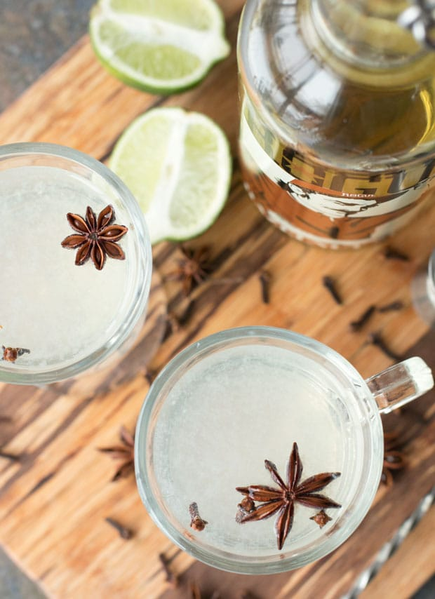 Hot Hazelnut Rum Cocktail | cakenknife.com