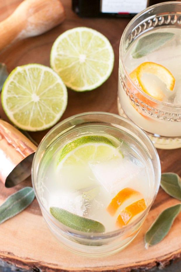 Tequila Sage Smash | cakenknife.com