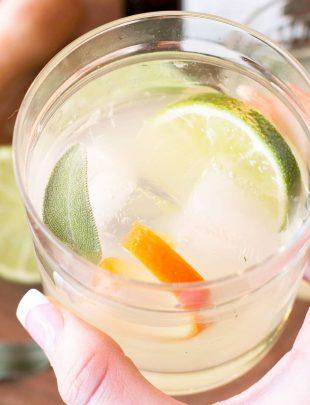 Tequila Sage Smash   cakenknife.com