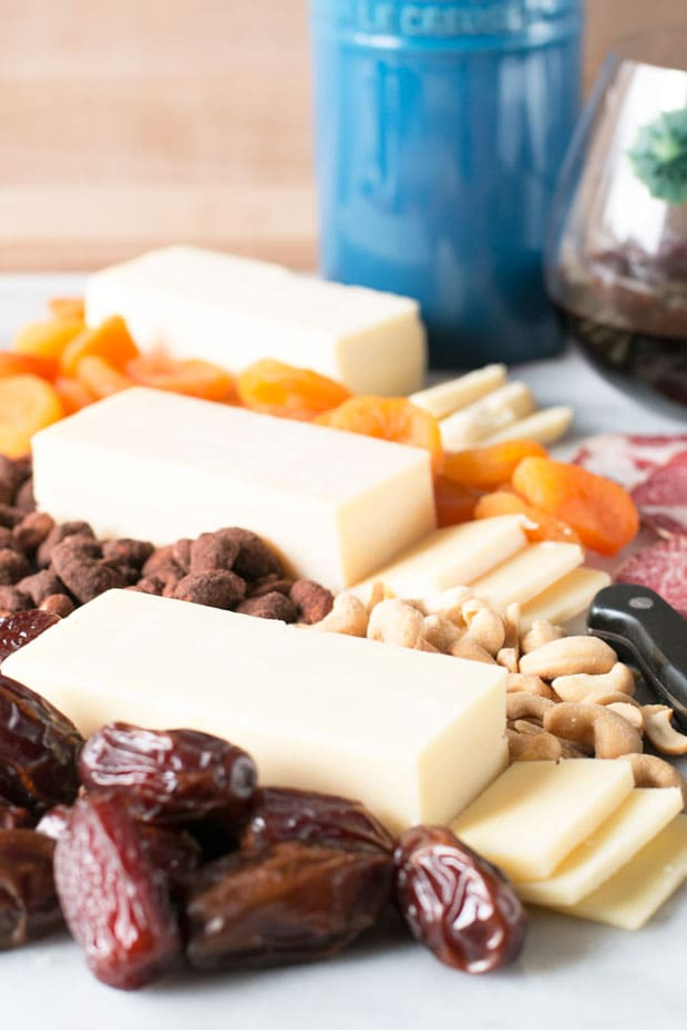 Weeknight Cheese Board #cheersandcheese | cakenknife.com