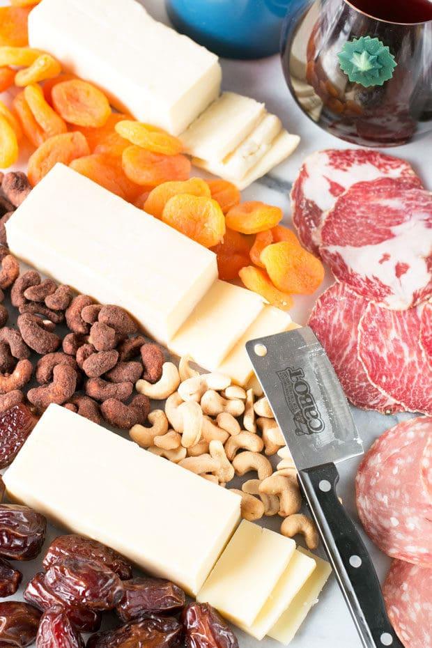 Weeknight Cheese Board #cheersandcheese | cakenknife.com