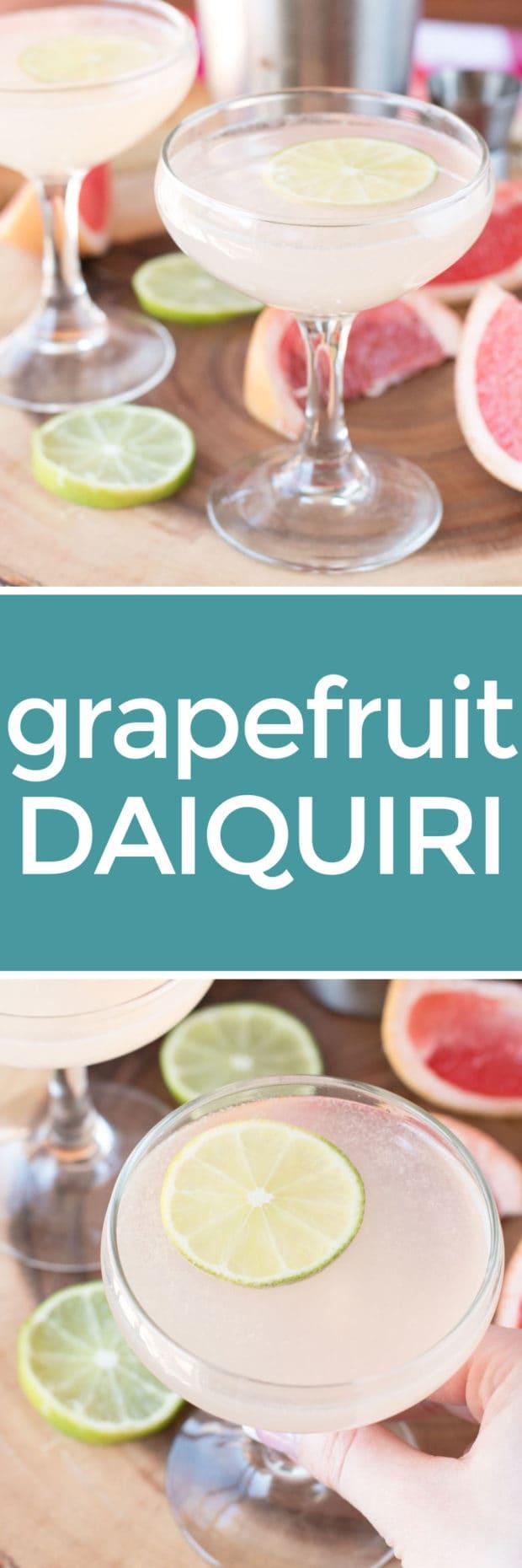 Grapefruit Daiquiri | cakenknife.com