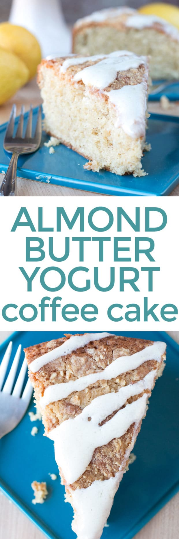 Almond Butter Yogurt Coffee Cake – Cake 'n Knife