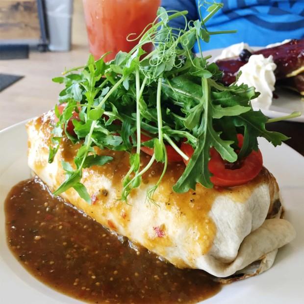 Wednesday Slice - brunch at Fooducopia in Denver, CO | cakenknife.com #breakfast #burrito #colorado