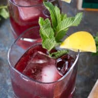 Cherry Whiskey Smash picture