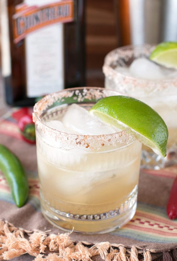 Chili Lime Margarita | cakenknife.com #cocktail #drink #tequila