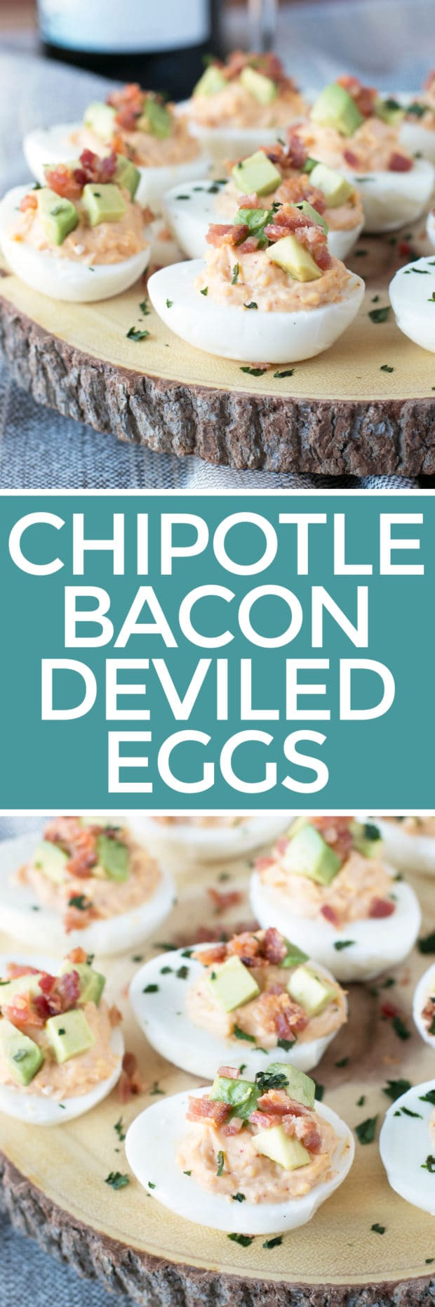 Chipotle Bacon Deviled Eggs Recipe — Dishmaps