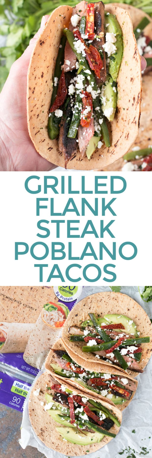 Grilled Flank Steak Poblano Tacos Cake N Knife