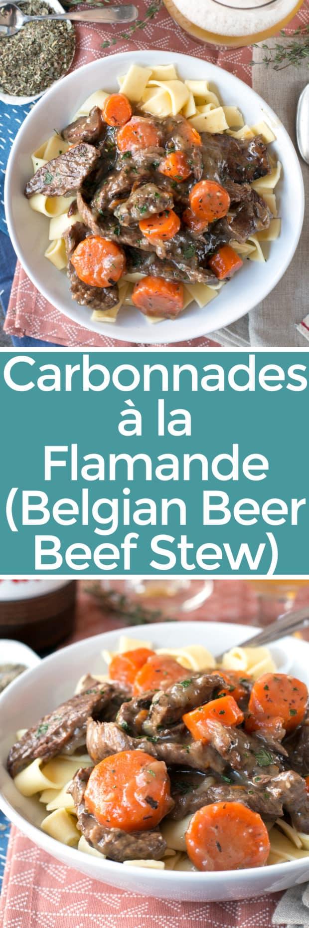 Carbonnades à la Flamande (Belgian Beer Beef Stew) – Cake ...