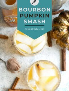 Bourbon Pumpkin Smash Pinterest Graphic