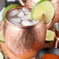 Spicy Mezcal Mule