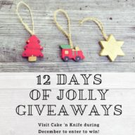 12 Days of Jolly Giveaways on Cake 'n Knife! | cakenknife.com #christmas #giveaway #sponsored