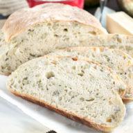 Harvest Pumpkin Seed Bread | cakenknife.com #bread #artisanbread #baking