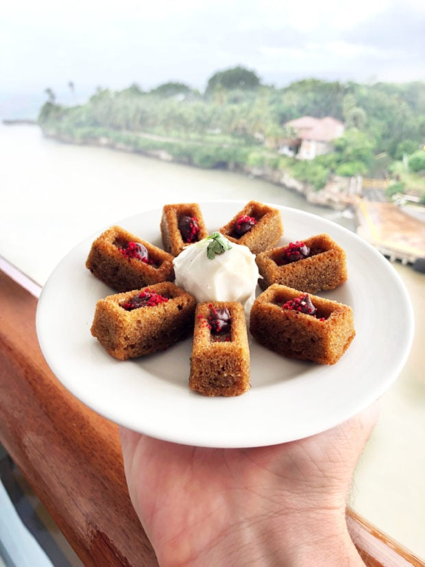 Foodie Guide to the Carnival Vista
