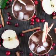 Cranberry Cider Irish Mule