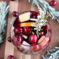 Red Christmas Single Serve Sangria