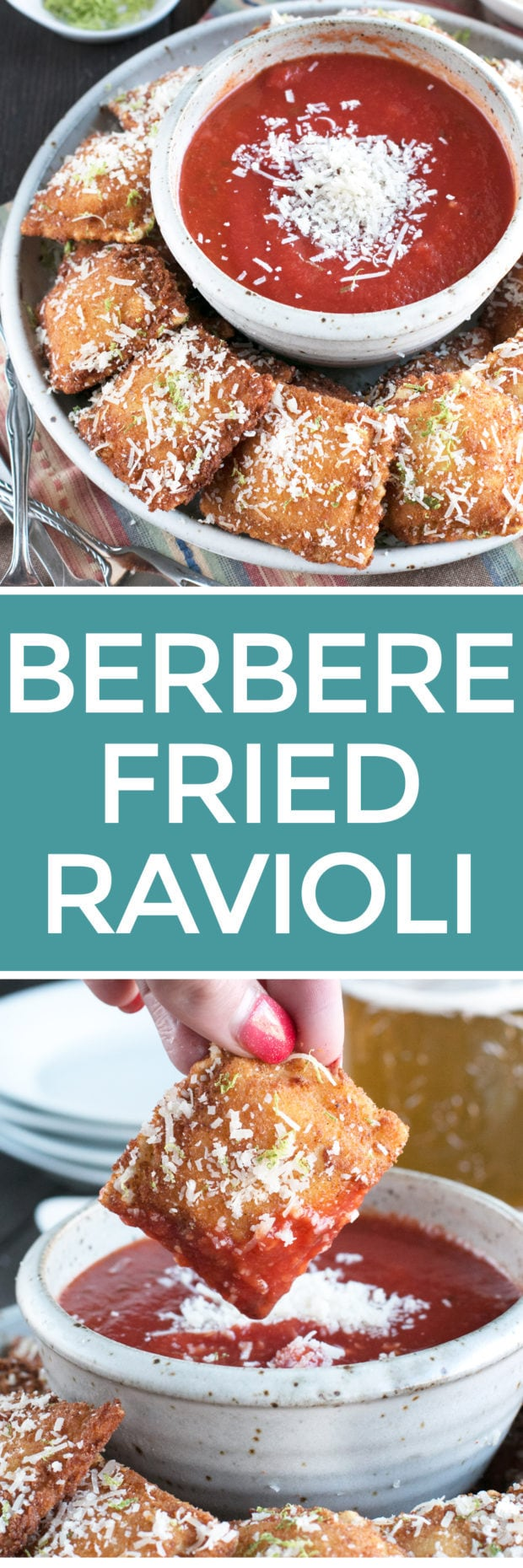 Berbere Fried Ravioli
