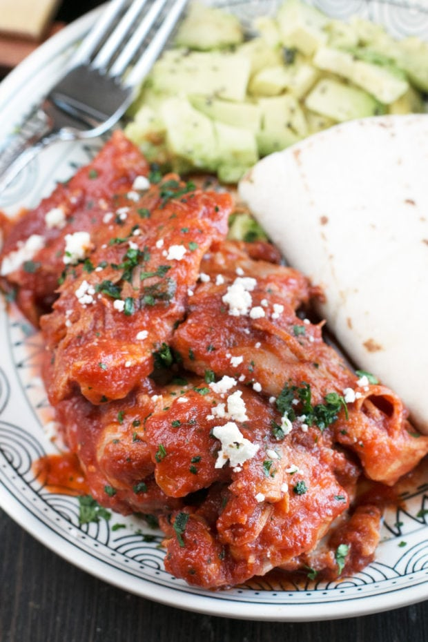 Chipotle Braised Chicken Thighs