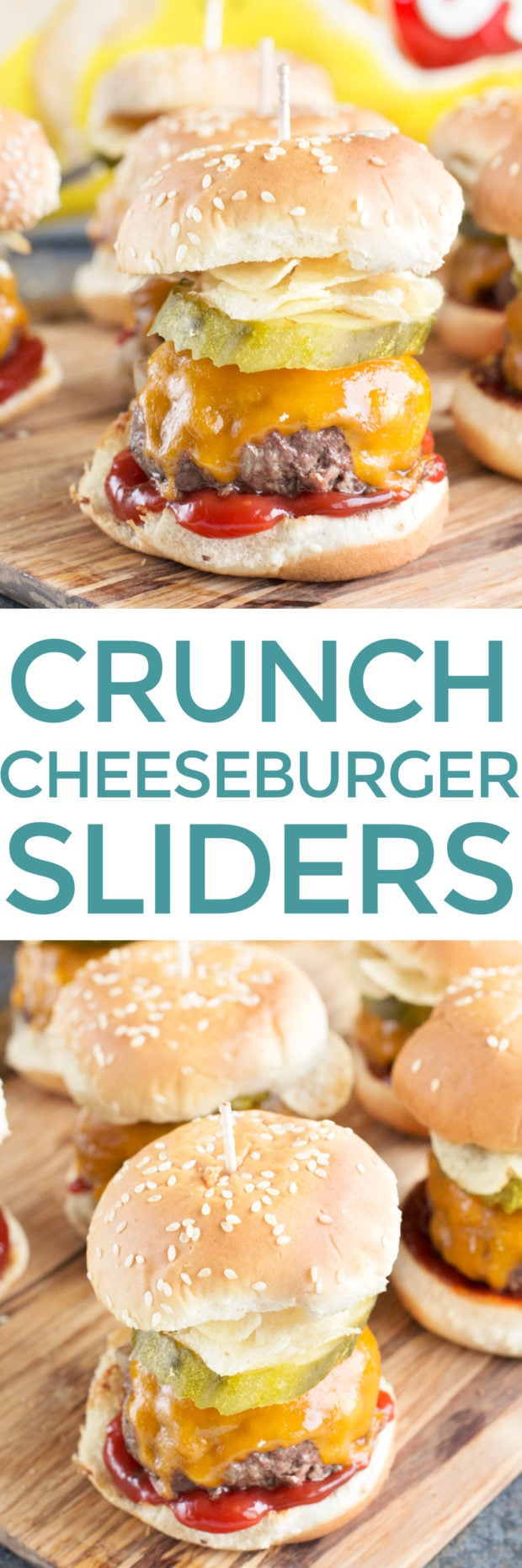 Crunch Cheeseburger Sliders