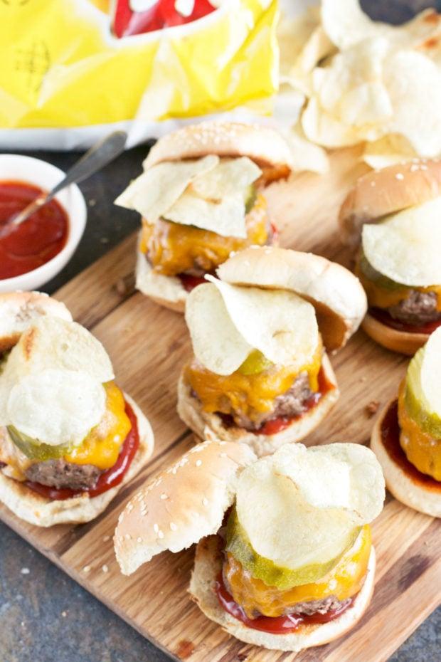 Crunch Cheeseburger Sliders