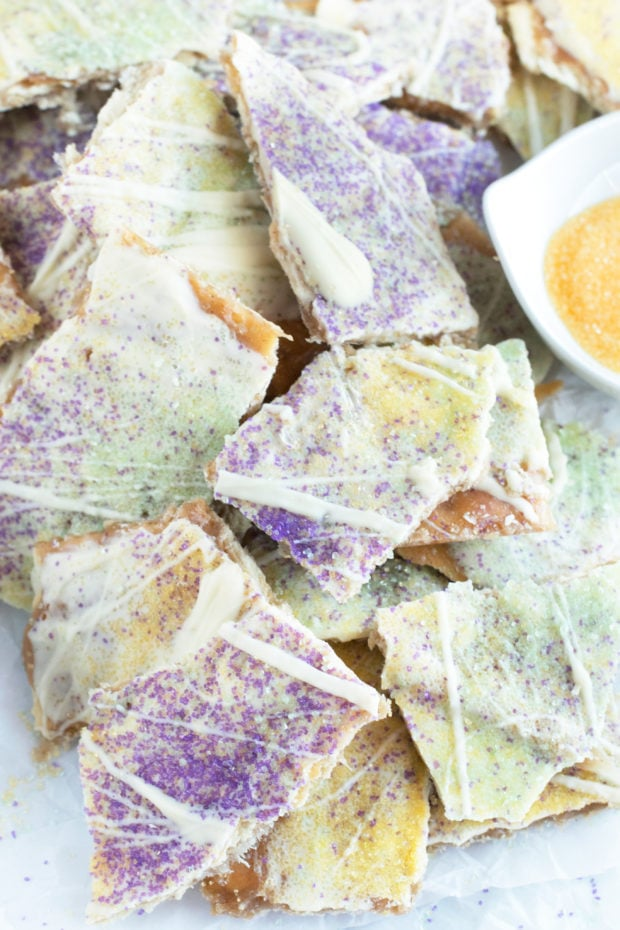 King Cake Crack Candy in a pile image