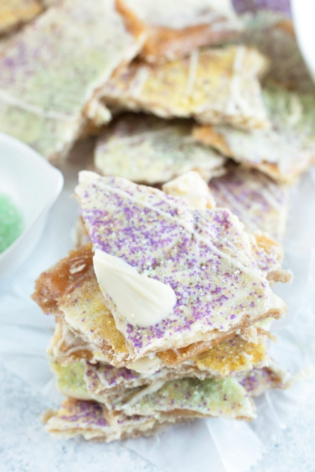 King Cake Crack Candy in a pile photo