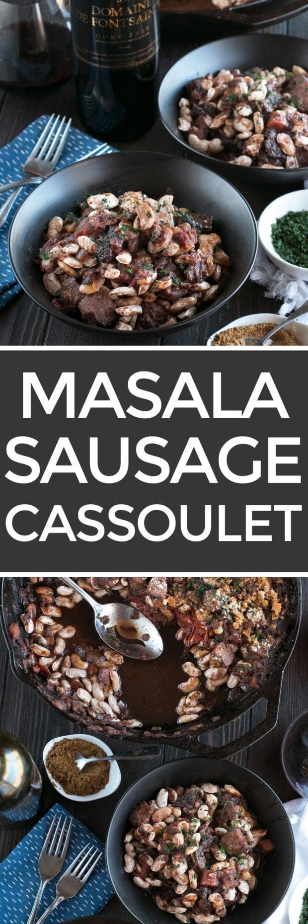 Masala Sausage Cassoulet