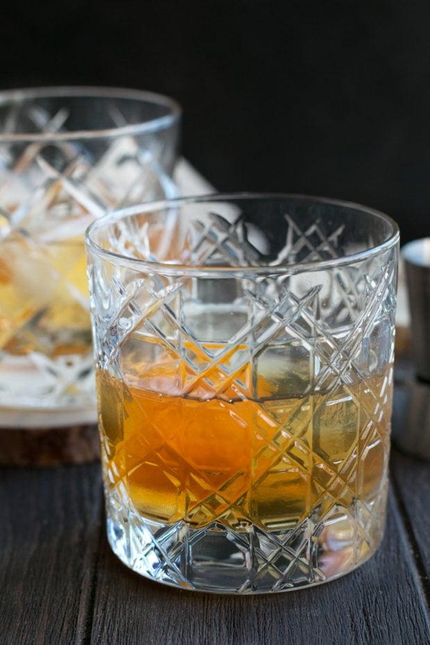 Smoked Orange Old Fashioned