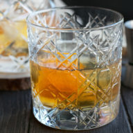 Smoked Orange Old Fashioned