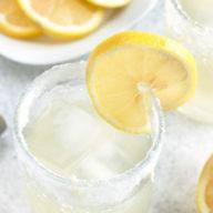 Lemon Agave Margarita