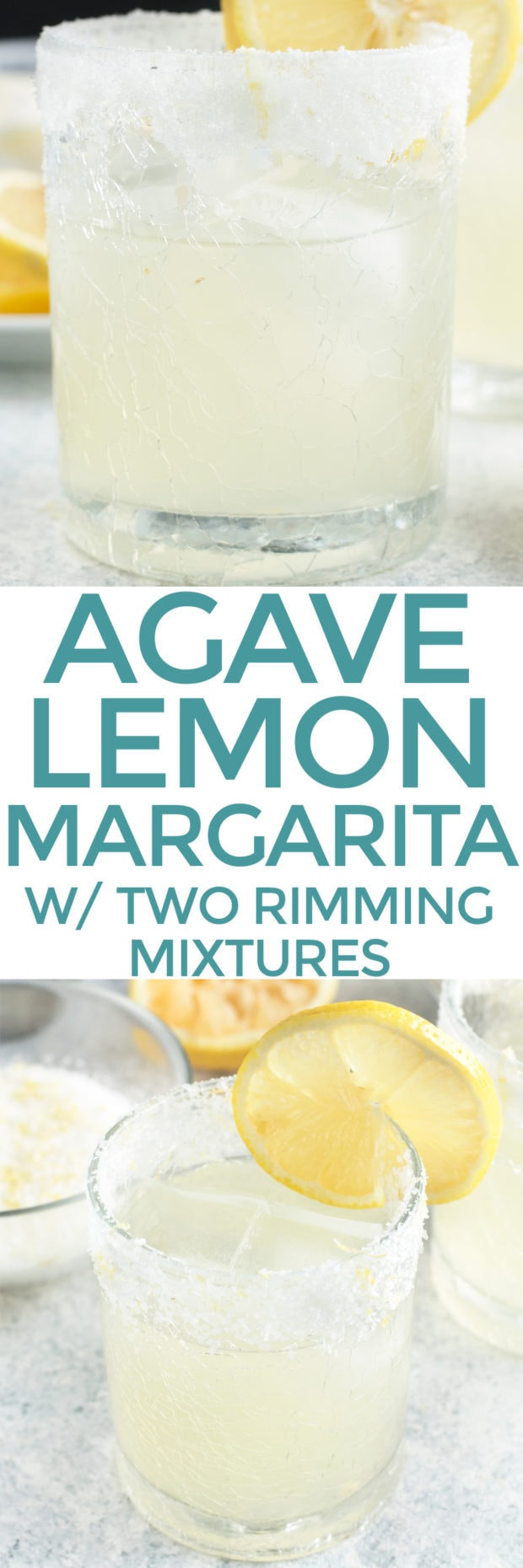 Lemon Agave Margarita