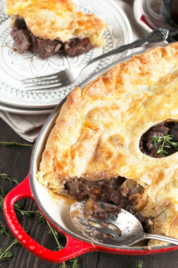 Boeuf Bourguignon Pot Pie
