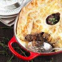 Boeuf Bourguignon Pot Pie
