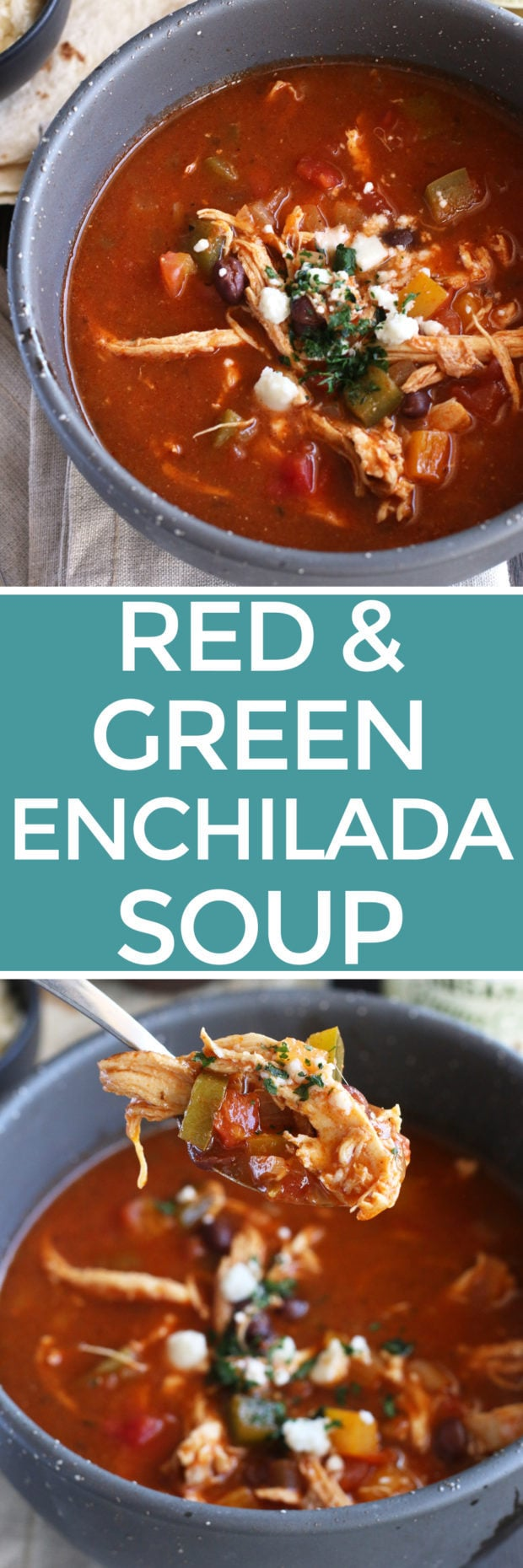 Red and Green Enchilada Soup