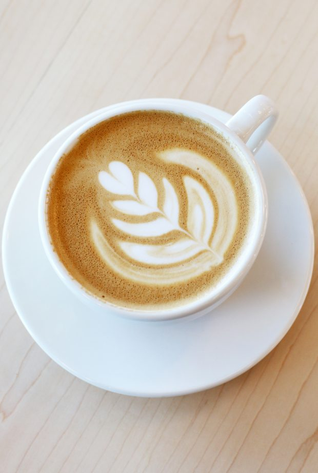 Pablo's Coffee on East Colfax coffee art