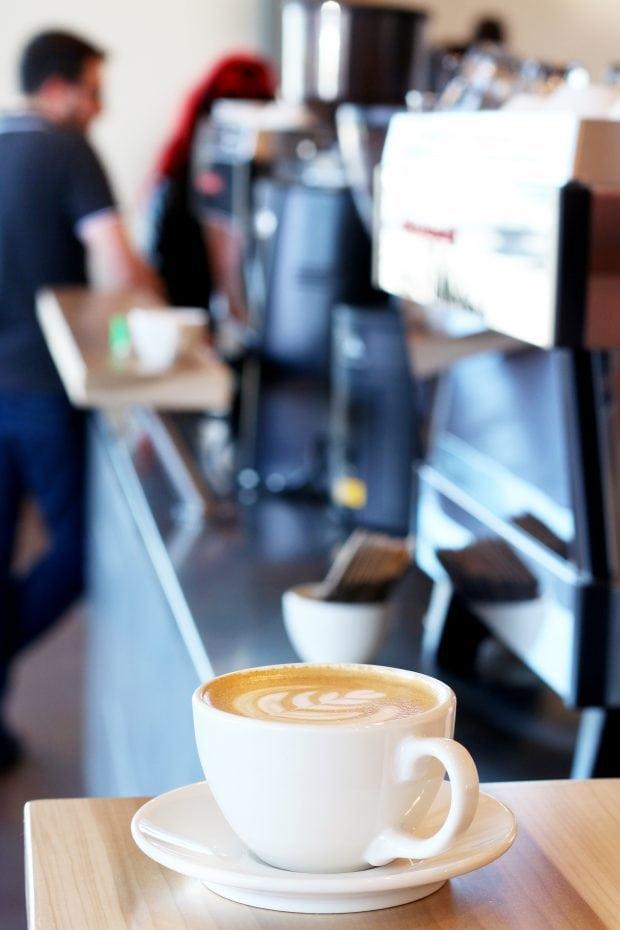 Pablo's Coffee on East Colfax coffee counter