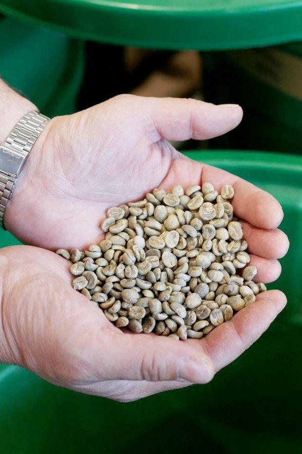 Pablo's Coffee on East Colfax fresh coffee beans