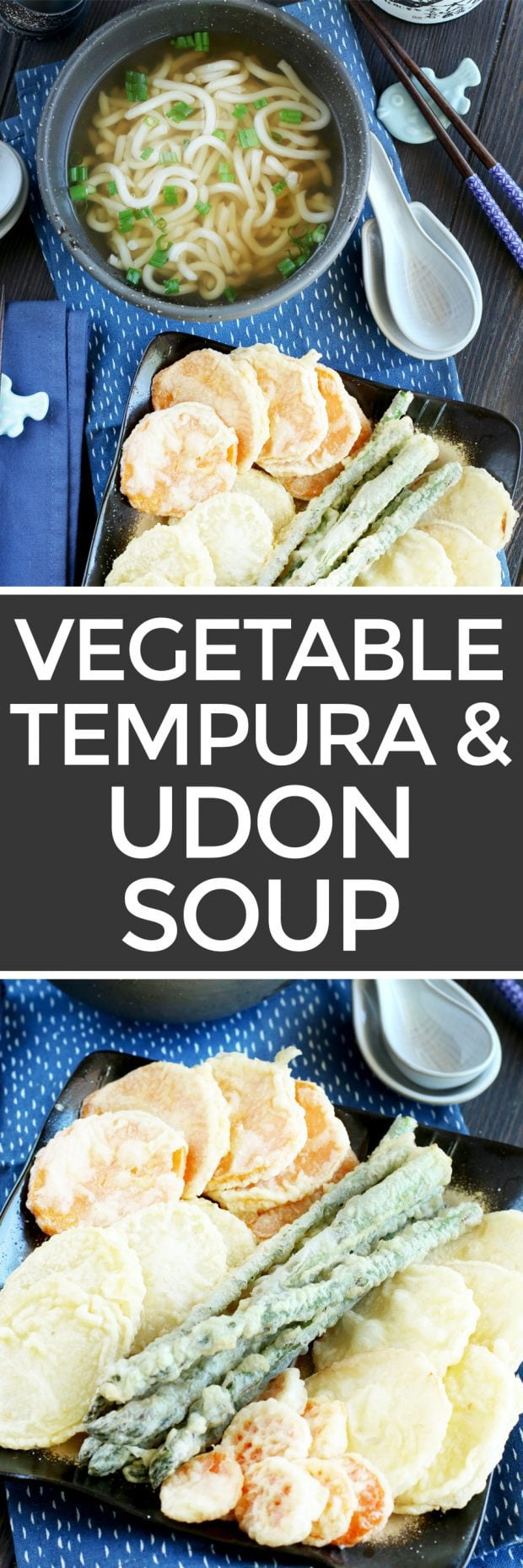 Vegetable Tempura Udon Soup