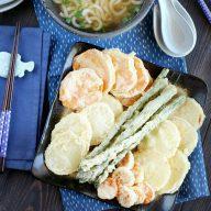 Vegetable Tempura Udon Soup
