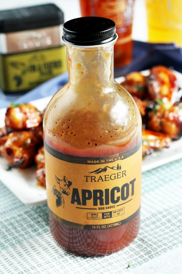 Grilled Beer Marinated Chicken Wings