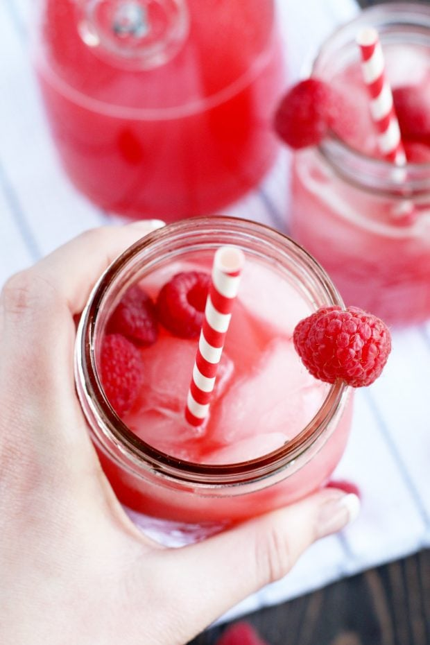 Raspberry Vodka Lemonade
